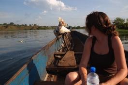 On the Nile in Uganda